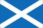 Skotsko - vlajka