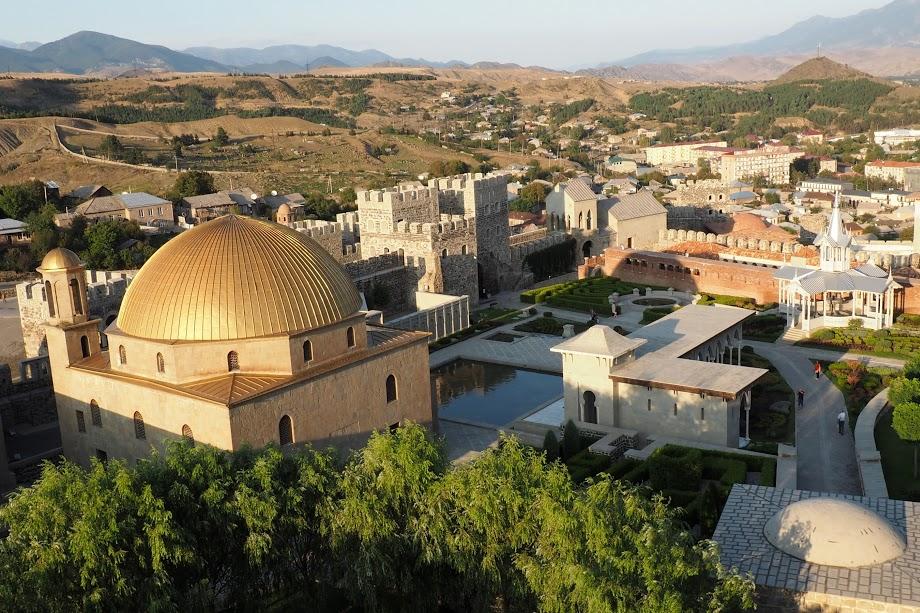 Středověký komplex Rabati v Akhaltsikhe